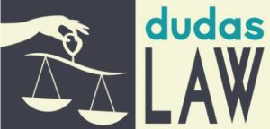 The new Dudas Law Logo