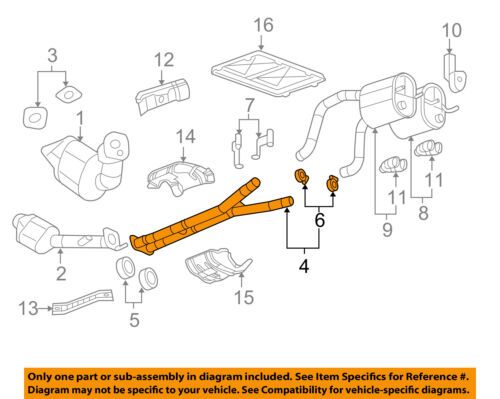 Used Chevrolet Exhaust Parts for Sale