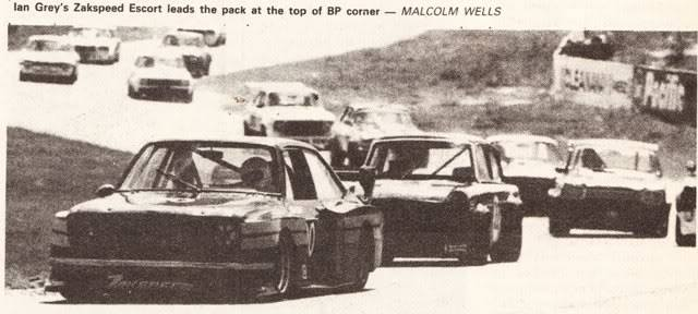 1981 and still winning with Ian Grey at the wheel.