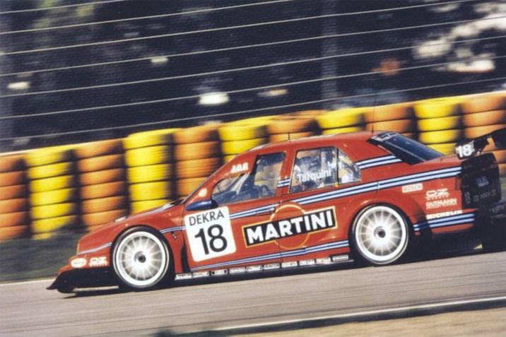 Tarquini at speed during the Italian ITCC domestic round.