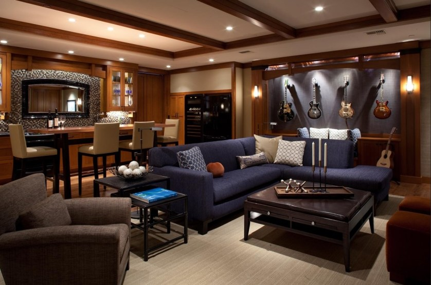 perfect bachelor pad or man cave