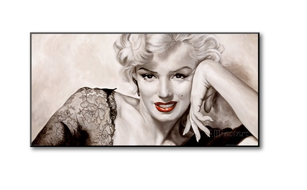 vintage girls posetrs, marilyn Monroe Art Poster