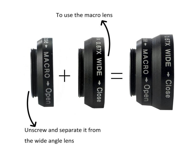 smartphone camera lense kit