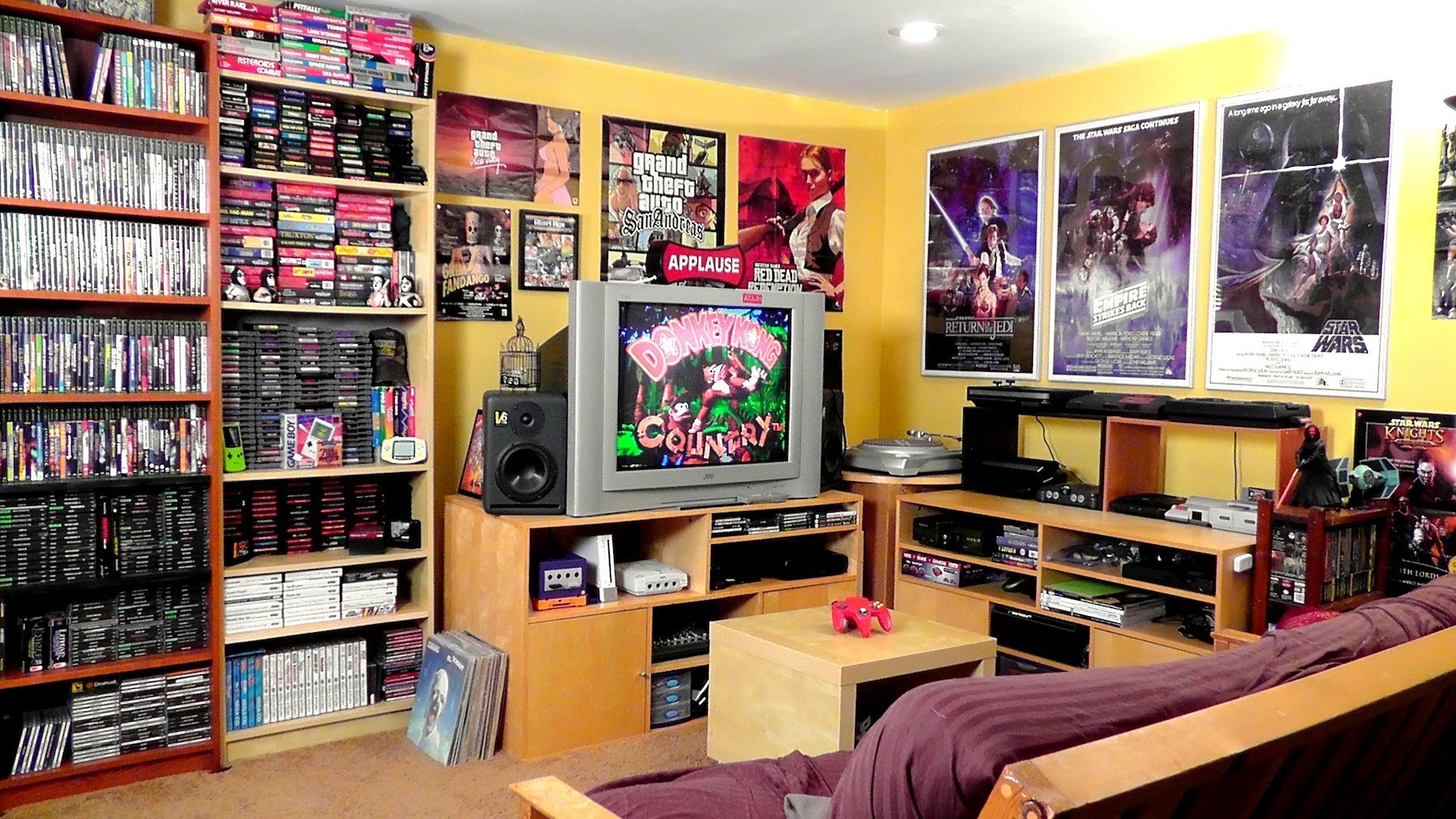 Here are ten fun ideas. 4 Steps to a Video Gamer's Dream Room | DudeLiving