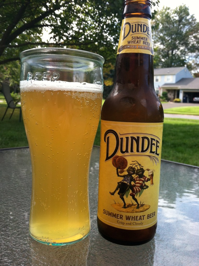 dundee summer wheat, best cheap beer for men
