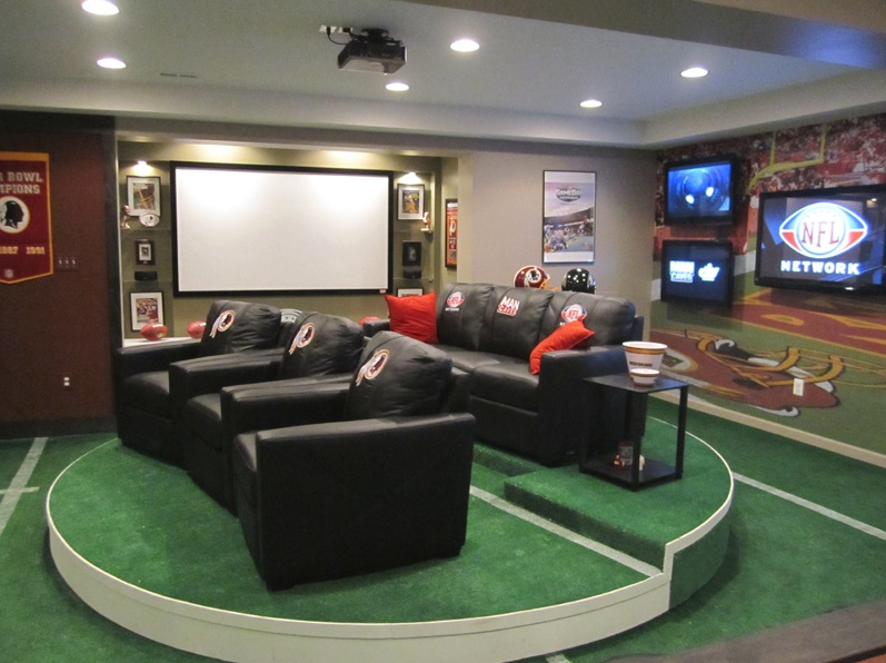 perfect man cave seating