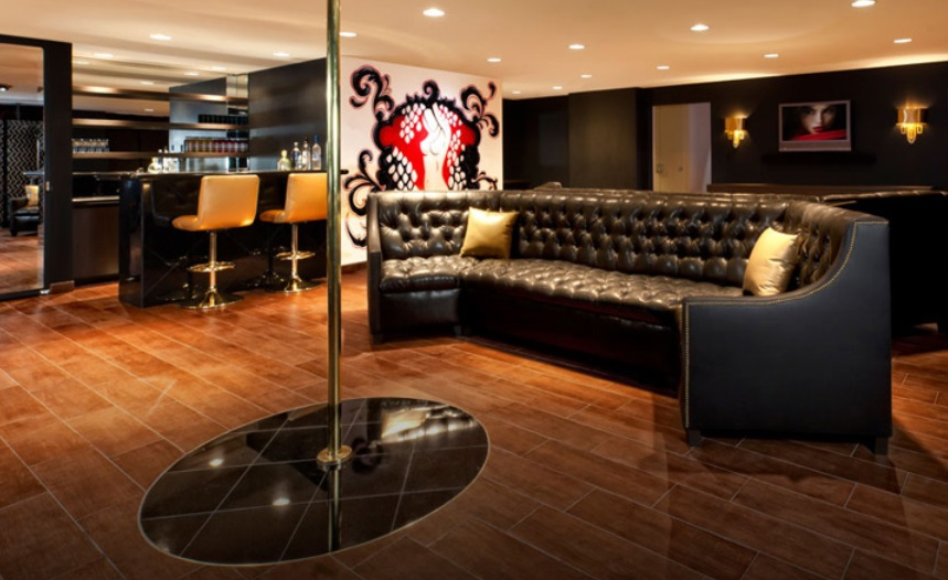 Got Fun Friends  Put a stripper pole. 17 Killer Man Cave Ideas   DudeLiving