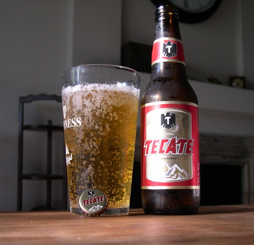 tecate beer for guys