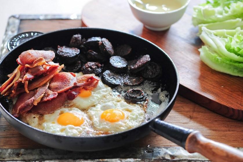 breakfast for manly men