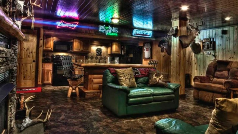 hunter man cave