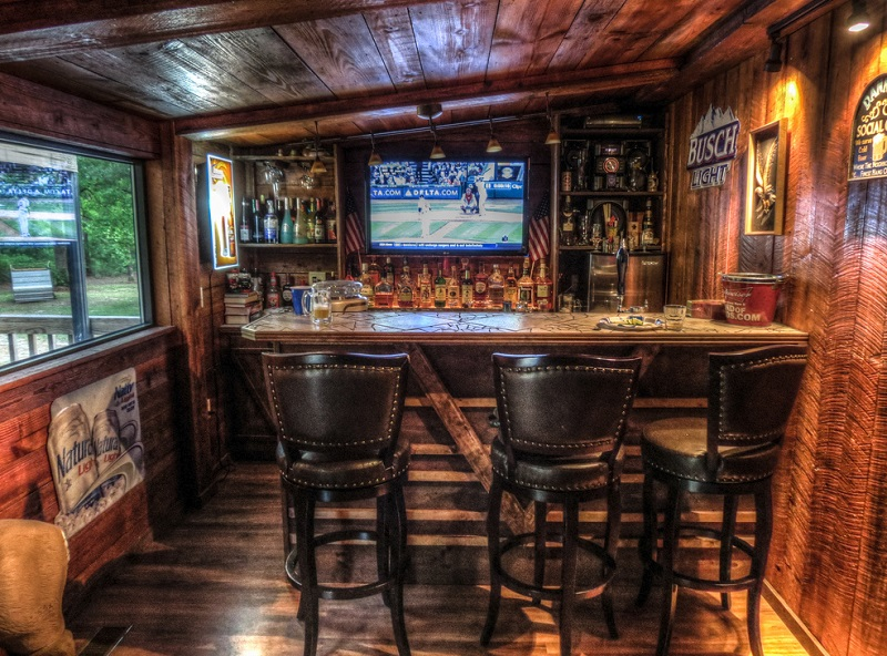 Man Cave Examples : Man cave garage examples