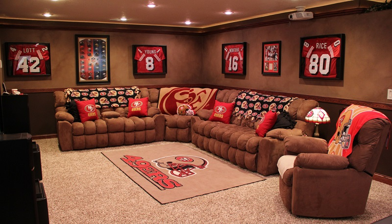 Classy Man Cave Furniture : Best man cave theme ideas part dudeliving