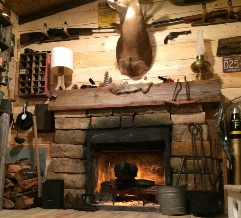man cave cabin