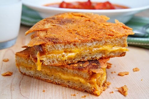 manly grilled cheese sandwich