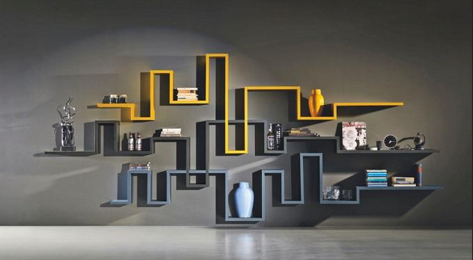 modern wall shelf ideas