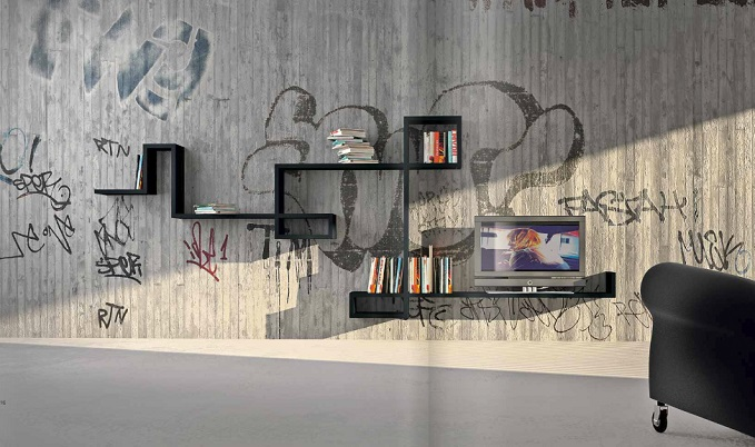 modular wall shelf