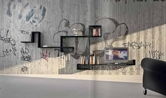 modular wall shelf