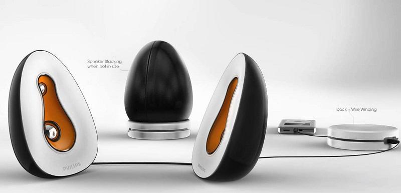 Philips Portable Speakers | Concept Model