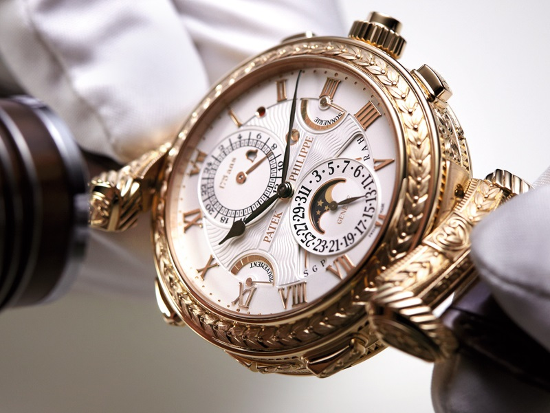 rich people watches