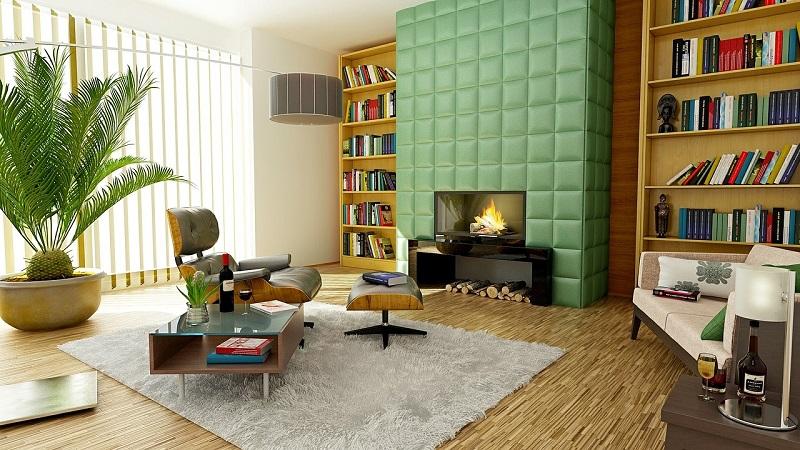 mid century modern interior design
