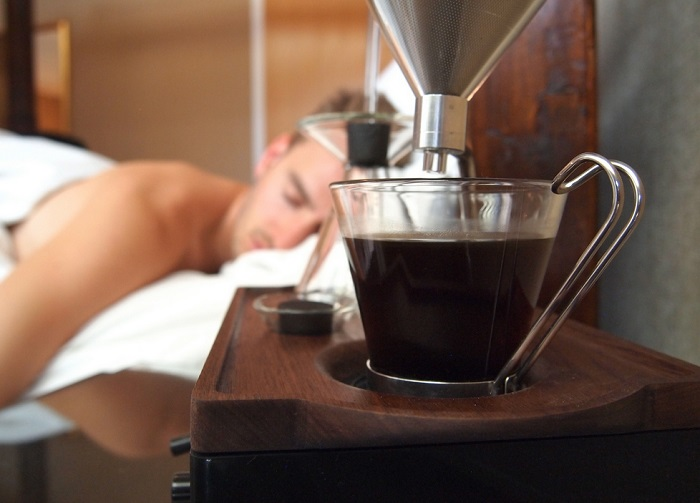 bed side coffee maker