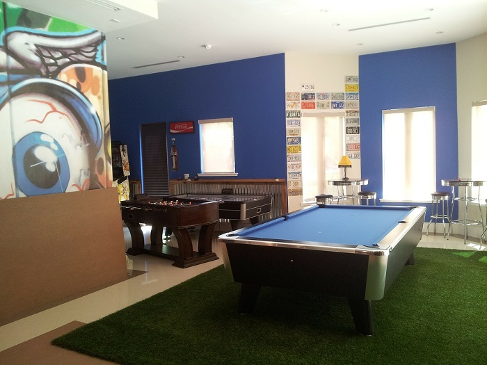 game room for guys