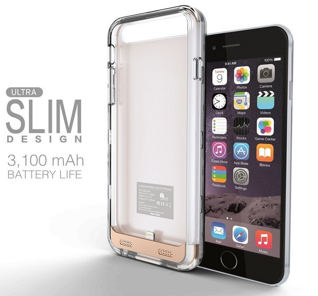 iphone 6 rechargable battary case