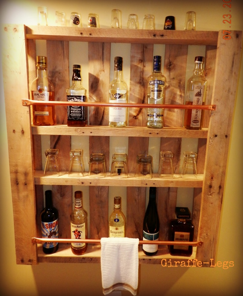 drink shelf