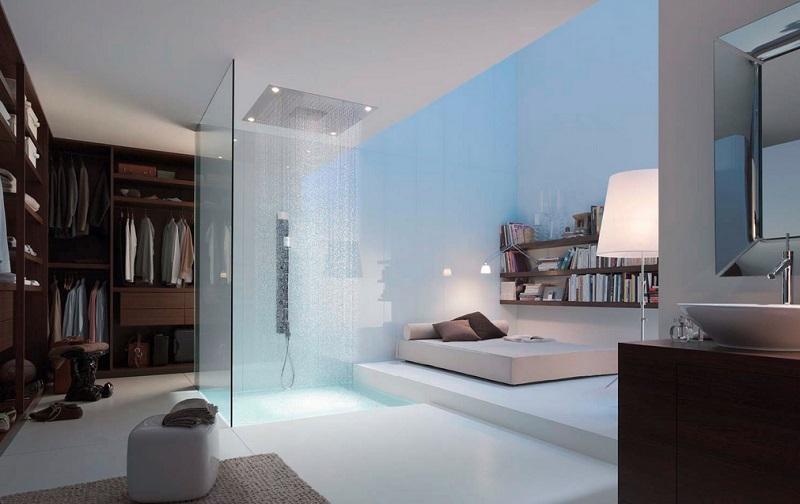 shower bedroom