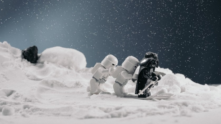 star wars snow statues