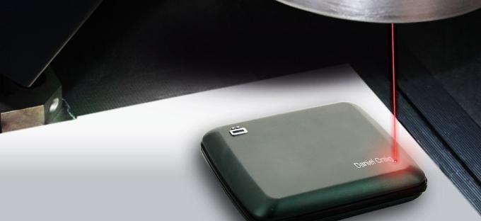 laser engraving wallets