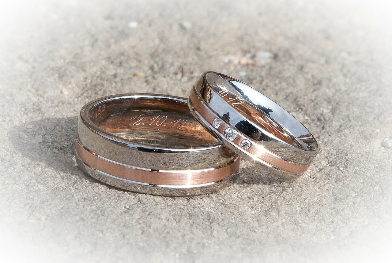 top 10 unique men's wedding bands | dudeliving