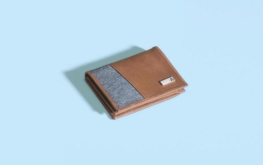 tri fold wallet for men