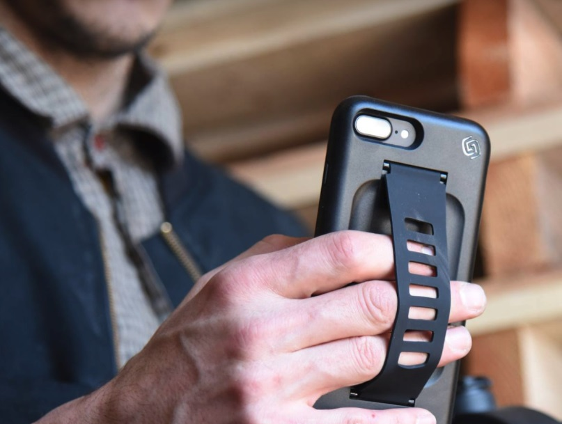 phone case with grip