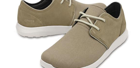 Men's Crocs Kinsale 2-Eye Shoe – ultimate manifestation of 'smooth style'