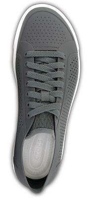 gray lop top crocs