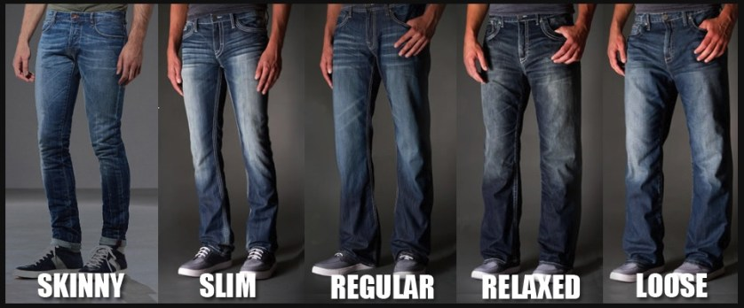 mens jeans cut guide