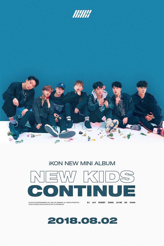 iKON new kid continue