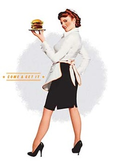 hamburger lady