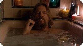 dude in bath