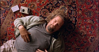 the dude on the rug