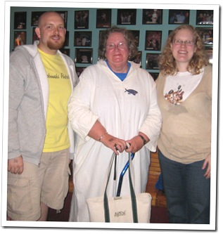 With a Dudeist Monk