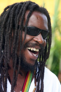 happy rasta dude
