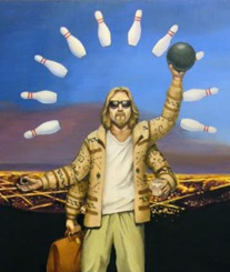 GA The Big Lebowski Stay out of Malibu David Eichenberger