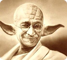 gandhi yoda