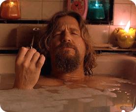 dude bathtub