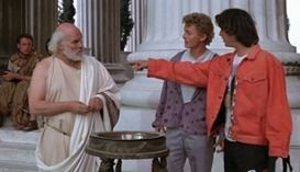 bill and ted and socrates