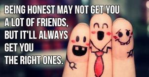 Authentic friends