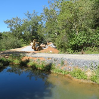 Construction on the C&O Canal
