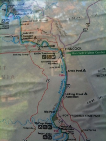 C&O Canal Map (4 of 4)